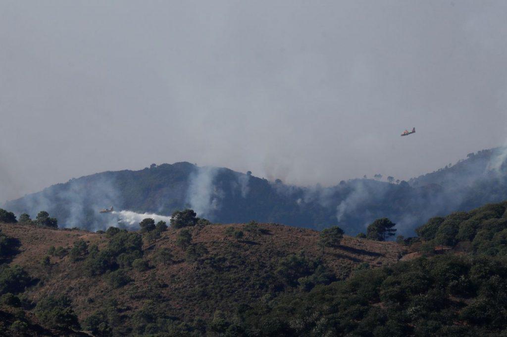 La Junta de Andalucía destaca que el incendio de la Sierra Bermeja de Málaga fue intencionado |  España