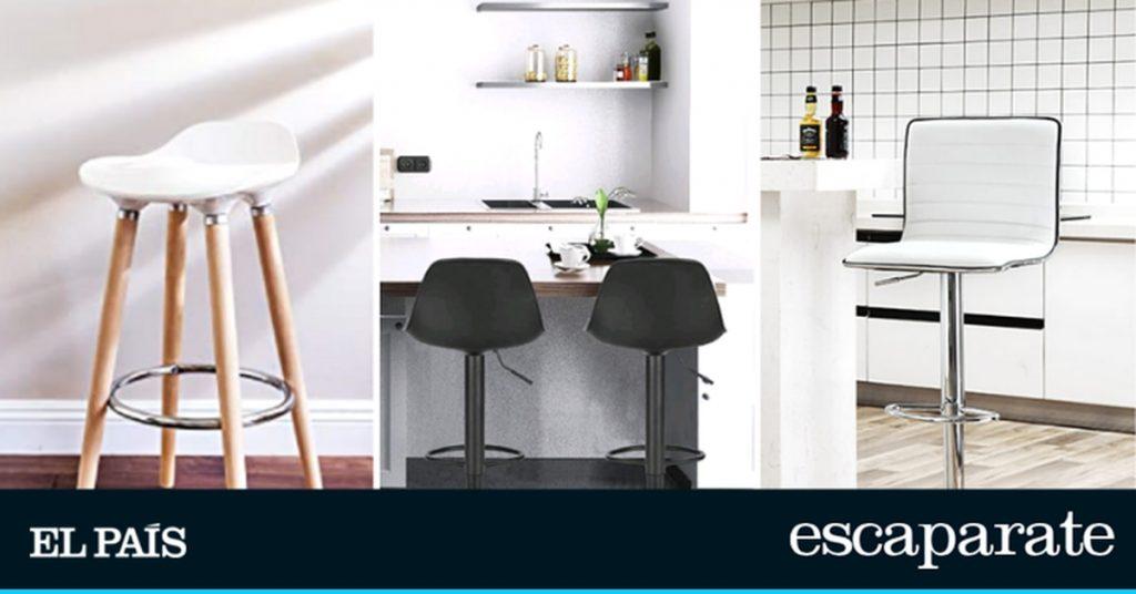 Los mejores taburetes altos para la cocina: prácticos, cómodos y bonitos |  Escaparate