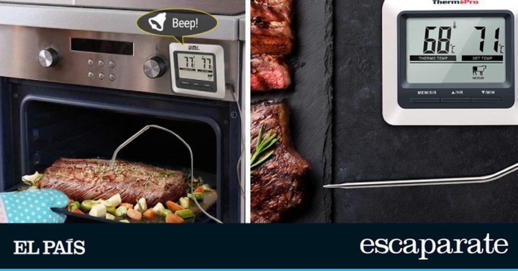 Los mejores termómetros de cocina para el horno    Escaparate