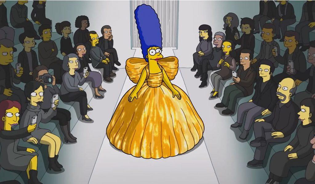 Los Simpson marchan por Balenciaga y revolucionan los axiomas del lujo |  gente