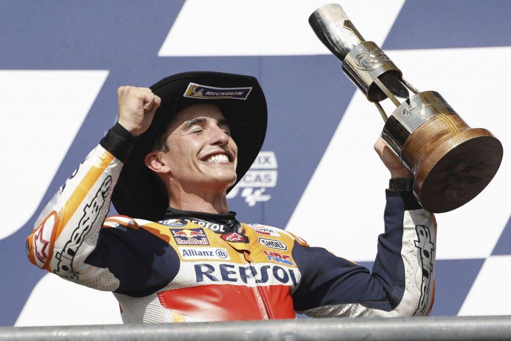 Márquez vuelve a ser Márquez en el GP de Las Américas    Deportes