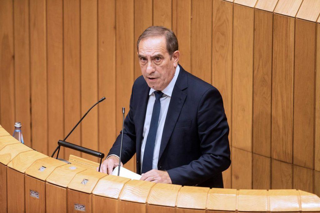 Valeriano Martínez: El ministro de Hacienda muere de un infarto en su despacho de la Xunta |  España